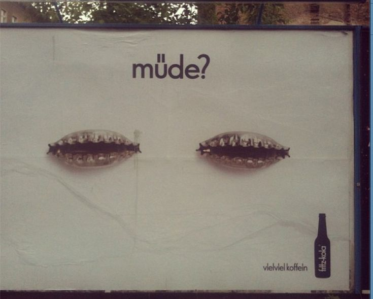 """""""Tired?"""" New poster via Germany. 