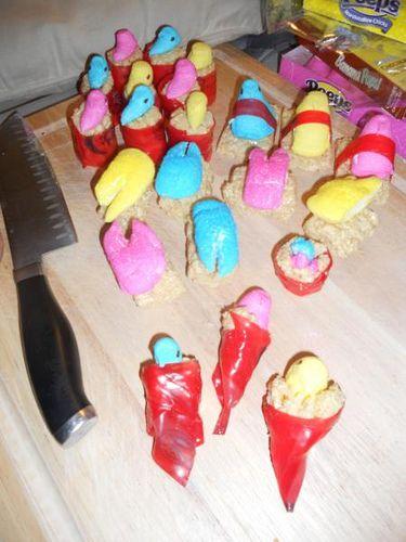 ... Holiday: Easter peeps:) on Pinterest | Peeps, Sushi and Easter peeps