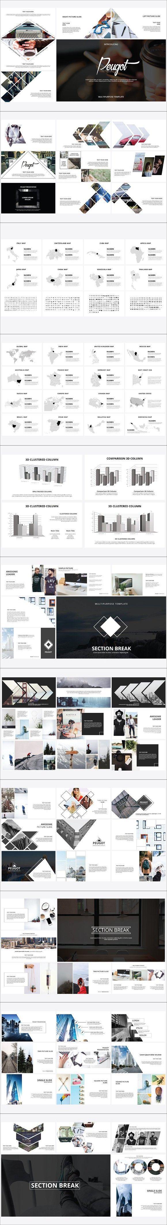 83 best Powerpoint images on Pinterest | Minimalist, Powerpoint ...