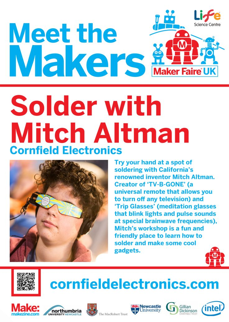 Mitch Altman at Maker Faire UK 2014