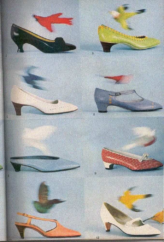 Vintage Good Housekeeping 1965 - Shoes, glorious shoes!