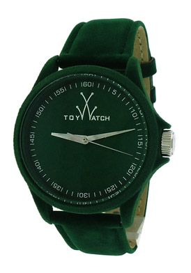 ToyWatch PE04GR Watches,Women's Green Dial Green Velvet, Casual ToyWatch Quartz Watches