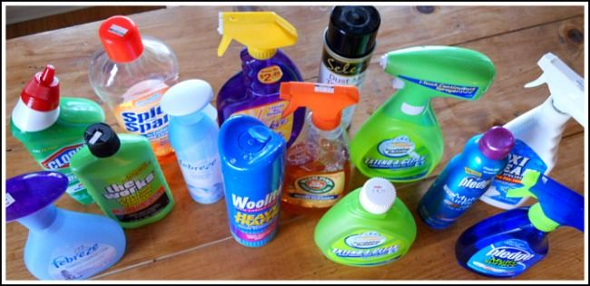 DIY recipes for common household cleaners!