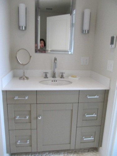 half bath vanity for the home pinterest