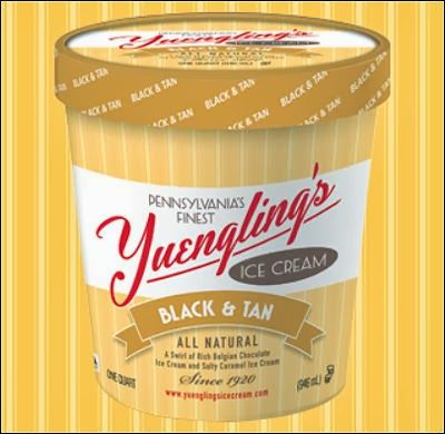 Yuengling ice cream. We sell this at Weis Markets. I need to remember to buy some.