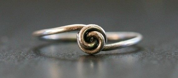 simple wire knot ring tutorial