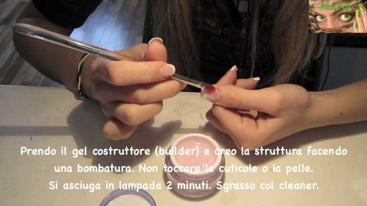 Ricostruzione unghie tutorial - refill su unghie naturali metodo trifasico