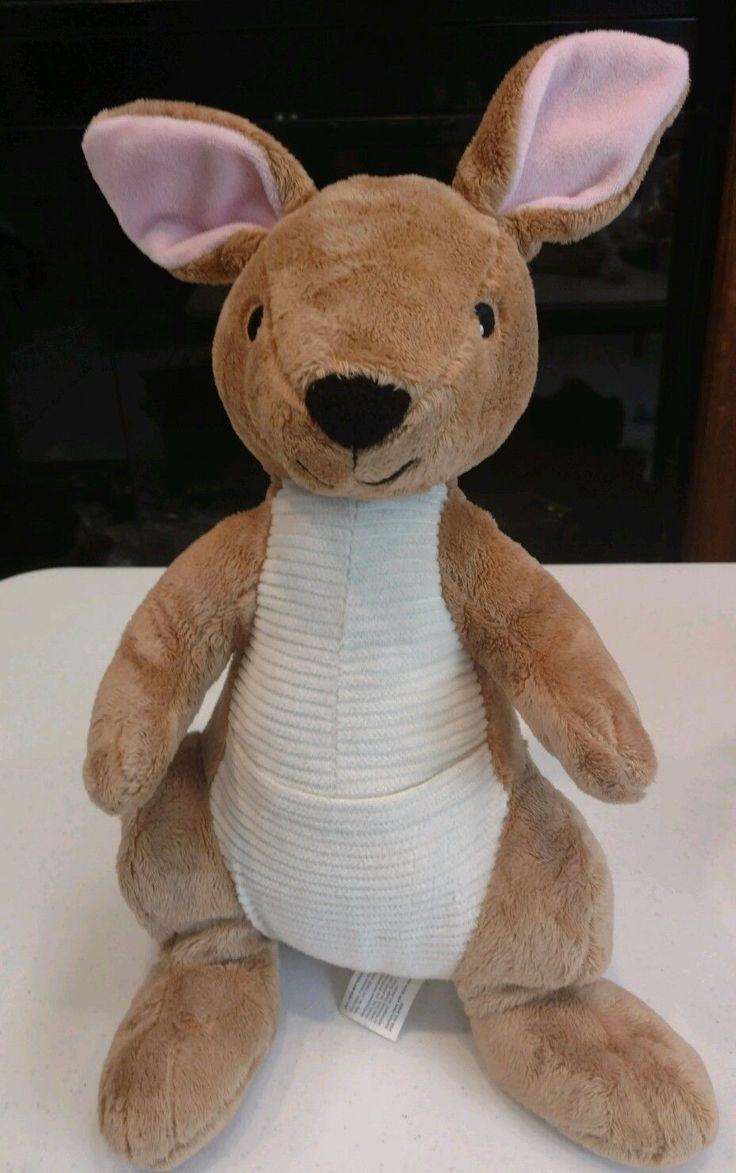 Kohls Cares For Kids Kangaroo Plush Stuffed Animal Curious George Visits The Zoo