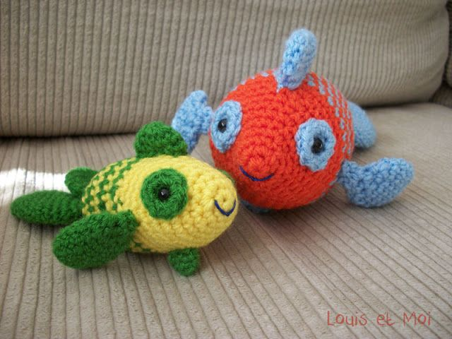 Crochet Nub Stitch : 1000+ images about Crochet Fish on Pinterest Ravelry, Patterns and ...