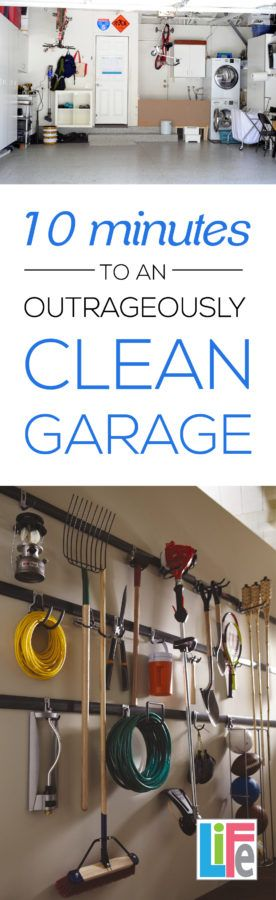 Clean that garage quickly with these amazing tips!