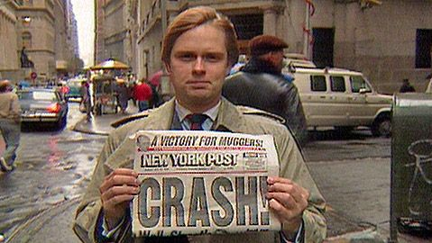 { 1987 } Stock Market Crash