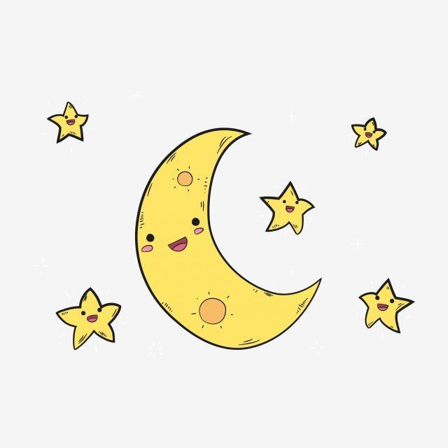 نجوم الكرتون كارتون القمر نجوم جميلة قمر جميل القمر كرتون شمس شمس جميلة Png والمتجهات للتحميل مجانا Cute Stars Cartoon Sun Moon Cartoon