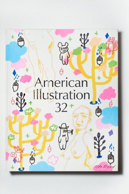 You Byun - 288 editions of the new American Illustration Annual have handmade covers, created by 45 different artists and illustrators.