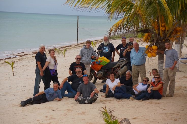 """The crew (minus Brian): See all the stories about that motorcycling nirvana called Mexico on our Ferris Wheels Motorcycle Safaris Tacos 'n' Tequila tour. Just go to motorbike writer.com and search for """"Mexico""""."""