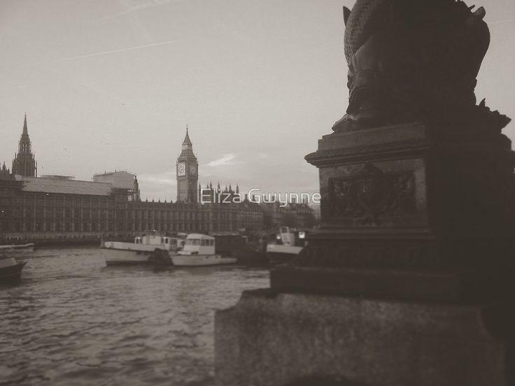 River Thames II by Eliza Gwynne