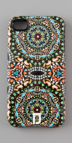 faux jeweled iphone case