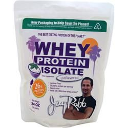 JAY ROBB Whey Protein Isolate Unflavored 24 oz  [THM suggested alternate whey protein]