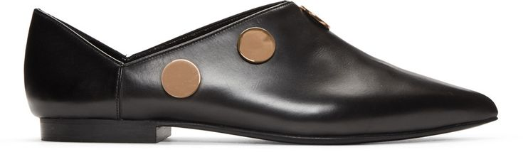 Pierre Hardy - Black Penny Loafers