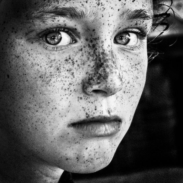 Quintessenceinblackandwhite thanks to aun from amazing black and white people photography by betina la plante i freckles