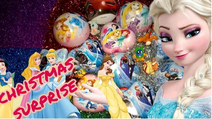 SUPER CHRISTMAS SPECIAL DISNEY PRINCESS FROZEN & CARS MAC QUEEN SURPRISE...