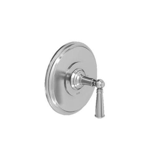 Newport Brass 4-2414BP Single Handle Shower Valve Trim with Metal Lever Handle Less Shower Head for the Aylesbury and Jacobean (