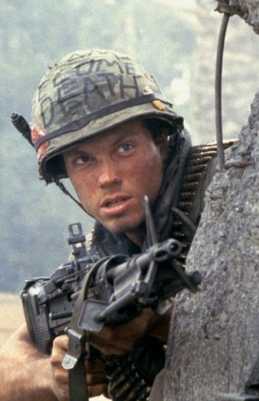 "Adam Baldwin in ""Full Metal Jacket"" (1987). DIRECTOR: Stanley Kubrick. #VietnamWarMovies"