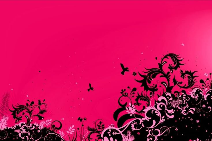 Pink And Black Designs | Pink And Black Wallpaper