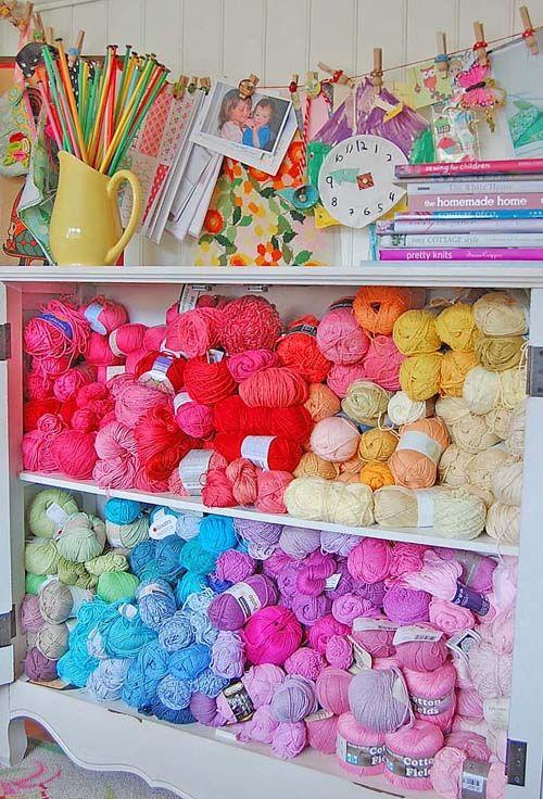 Knitting Wool Storage Ideas : Best organizing ideas crafts images on pinterest