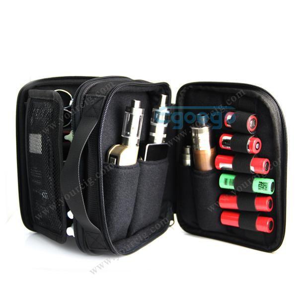 100 Original Youde Ud Vapor Pocket Double Deck Vaping Bag Vape Carry With Shoulder Strap For All Rda Rta Rba Box Mod