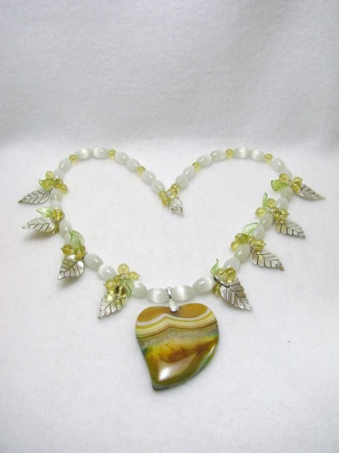 Dragon's Heart - Jewelry creation by Linda Foust