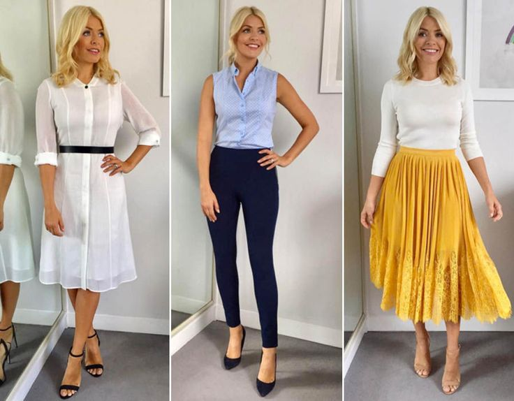 This Morning host Holly Willoughby is known for her figure-hugging pencil skirts and elegant fashion. Take a look at her best outfits from the show.