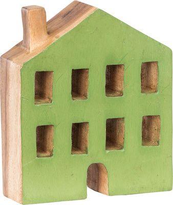 Figurka House zielony - Obrazy i rzeźby - Artykuły Dekoracyjne - Meble VOX