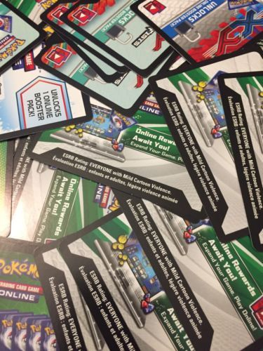 Pok mon Mixed Card Lots 104049: Pokémon Tcg Online Code Card Lot 120+ (Read Description) Xy Black And White -> BUY IT NOW ONLY: $40 on eBay!