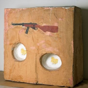 Ilya Kabakov - Automatic Weapon and chickens