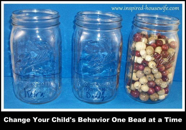 Do you have a child with behavior issues?  Bead and jar reinforcement behavior modification systems can help.  Changing behavior techniques for a strong willed, adhd, with Autism or other child. www.inspired-housewife.com