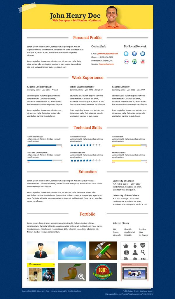 Best New Resumes Images On   Resume Ideas Resume