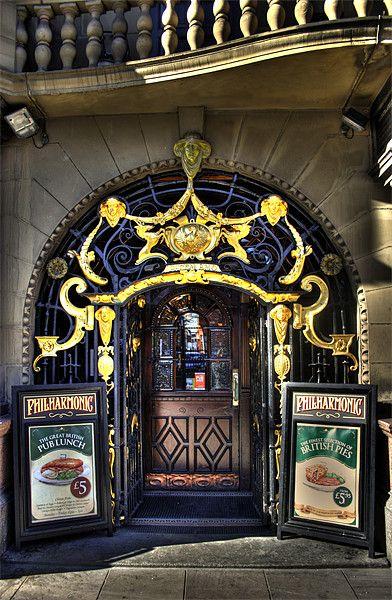 Philharmonic pub, Liverpool, UK