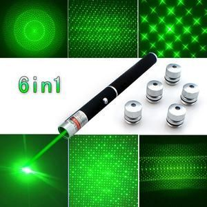 Top Quality 6in1 Laser Pointer Pen
