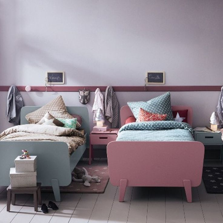 Une chambre d'enfant pour deux