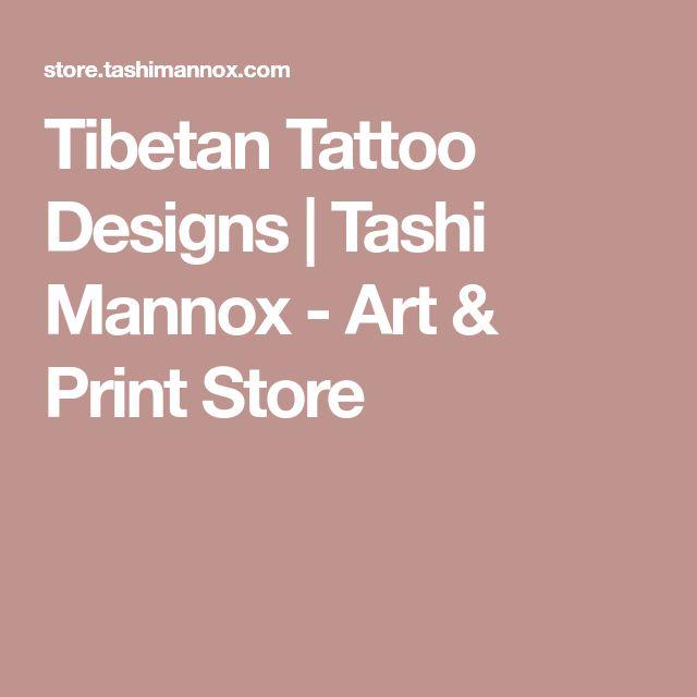 Tibetan Tattoo Designs   Tashi Mannox - Art & Print Store