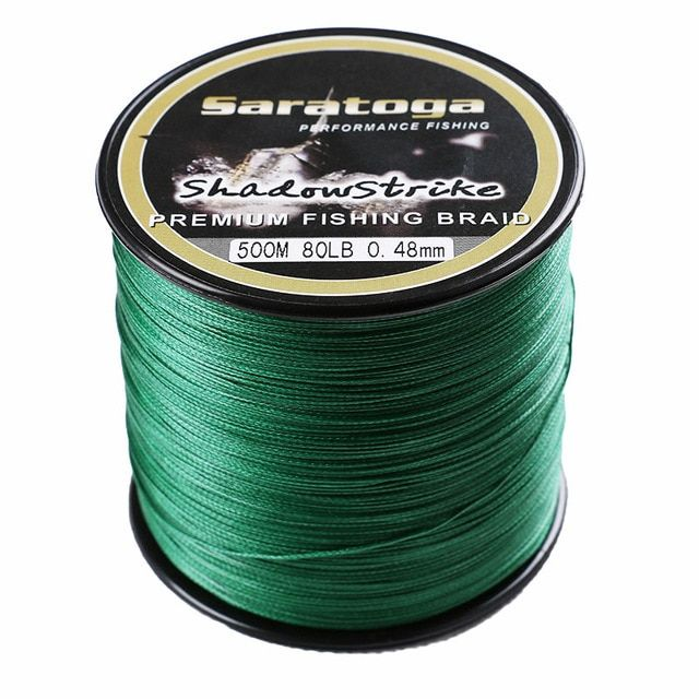 Free Shipping Top Quality Saratoga 8 Strands Braided Fishing Line