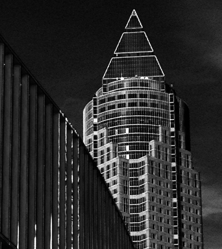 Frankfurt. Messe Turm.