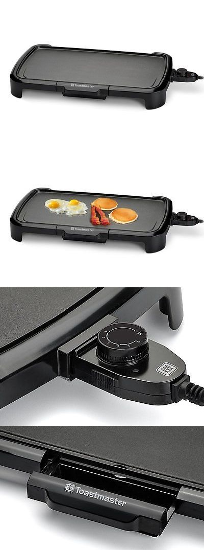 Grills and Griddles 20675: Electric Griddle Kitchen Non Stick Indoor Grill Table Cooking Pan Large Cookware -> BUY IT NOW ONLY: $33.59 on eBay!