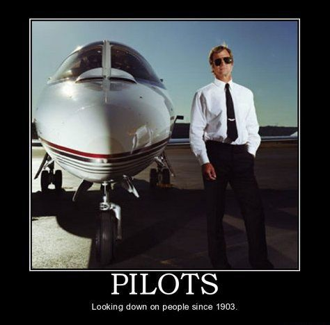 Funny Pilot Humor - having a laugh, serious lessons at learntofly.co.nz