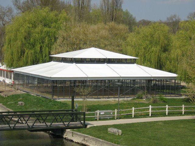 Grande tente de reception Orangerie