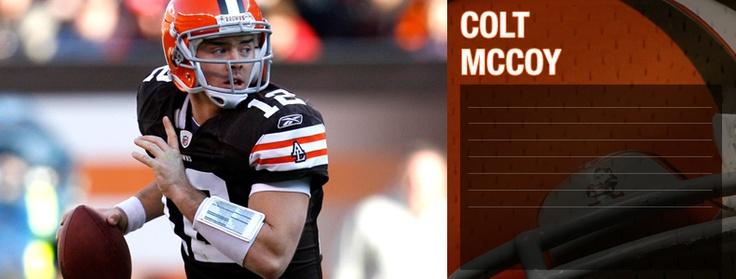 Browns QB Colt McCoy