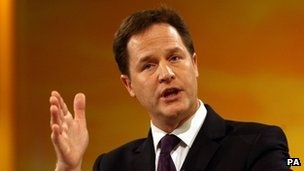 """Government plans to give police and intelligence services new powers to monitor email and internet use need a """"fundamental rethink"""", Nick Clegg says."""