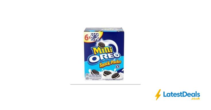 Oreo Mini Biscuits 6 Snack Packs, £1 at ASDA