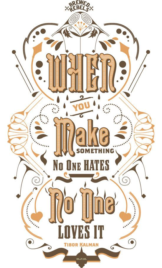 Typography Posters — Inksurge , via Behance