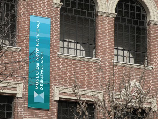 Buenos Aires Museum of Modern Art | Identity project by Luciano Ghysels, via Behance